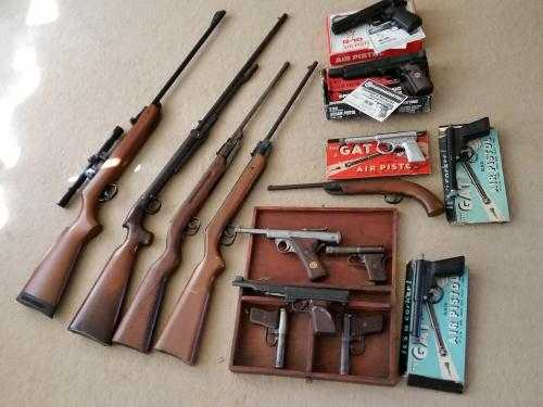 Air Rifles & Pistols